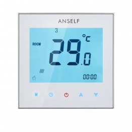 Anself Raumthermostat Display an