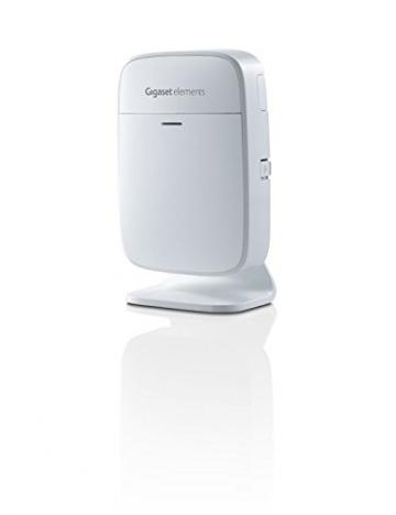 Gigaset elements Alarmanlage / elements starter kit / Smart Home Basisstation Bewegungsmelder Türsensor / Kompatibel mit Philips Hue5