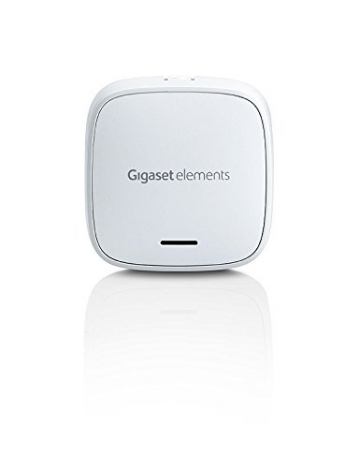 Gigaset elements Alarmanlage / elements starter kit / Smart Home Basisstation Bewegungsmelder Türsensor / Kompatibel mit Philips Hue8