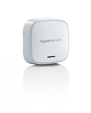 Gigaset elements Alarmanlage / elements starter kit / Smart Home Basisstation Bewegungsmelder Türsensor / Kompatibel mit Philips Hue9