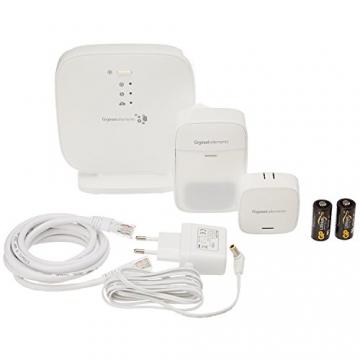 Gigaset elements Alarmanlage / elements starter kit / Smart Home Basisstation Bewegungsmelder Türsensor / Kompatibel mit Philips Hue2