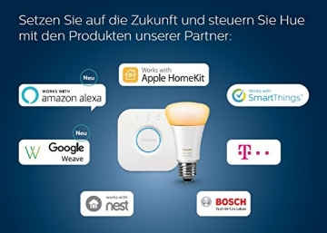 Philips Hue White & Color Ambiance E27 LED Lampe Erweiterung, 3. Generation14