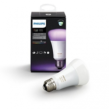 Philips Hue White & Color Ambiance E27 LED Lampe Erweiterung, 3. Generation3