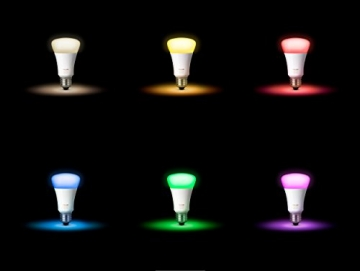Philips Hue White & Color Ambiance E27 LED Lampe Erweiterung, 3. Generation4