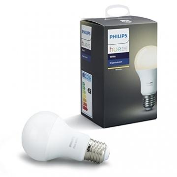 philips hue white e27 led lampe erweiterung dimmbar warmwei es licht steuerbar via app. Black Bedroom Furniture Sets. Home Design Ideas