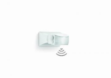 Steinel Bewegungsmelder IS 1 weiß, für innen und außen, 120° Bewegungsmelder, 10 m Reichweite, Auf- und Unterputz,2