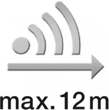 Steinel Bewegungsmelder IS 130-2 weiß, 130° Bewegungssensor, 12 m Reichweite, für den Innen- und Außenbereich, IP 54 6