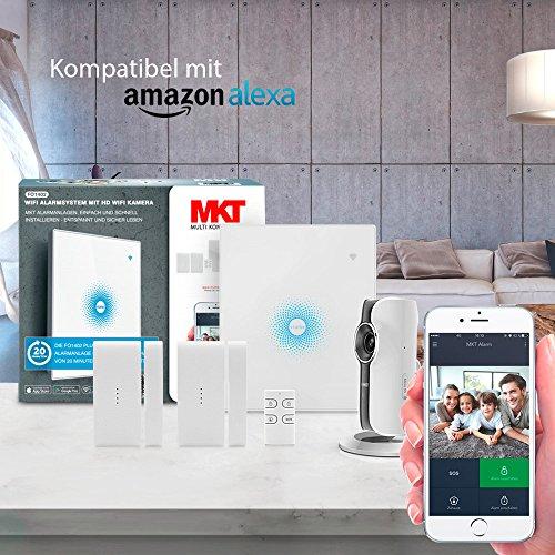 multi kon trade fo1402 wifi alarmanlage mit hd wifi kamera. Black Bedroom Furniture Sets. Home Design Ideas