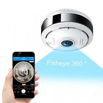 Fredi Ip Sicherheit Kamera 960p Panorama Kamera 180 Wlan