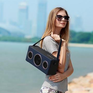 GGMM M4 Tragbarer Multiroom Lautsprecher AirPlay 6
