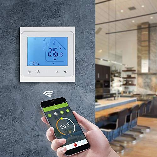 Steuerung der Raumtemperatur per App