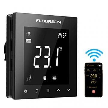 Flureon WiFi raumthermostat smart home heizung fussbodenheizung 01