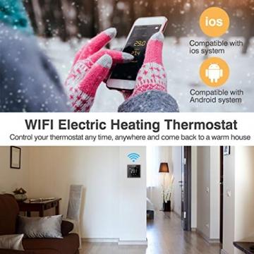 Flureon WiFi raumthermostat smart home heizung fussbodenheizung 05